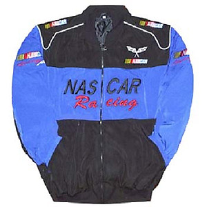 Nascar Racing Jacket Blue and Black