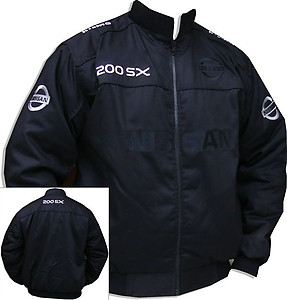 Nissan 200SX GTR Jacket Black