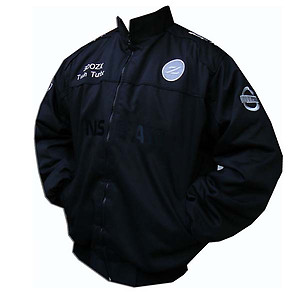 Nissan 300 ZX Twin Turbo Jacket Black