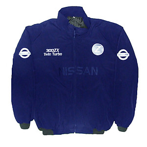 Nissan 300 ZX Twin Turbo Jacket Dark Blue