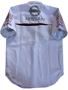 Nissan Racing Shirt White