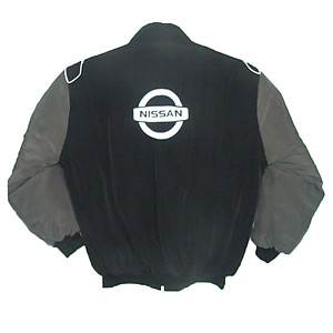Nissan Z Jacket Black, Dark Gray