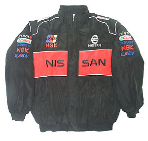 Nissan Racing Jacket Black and Red