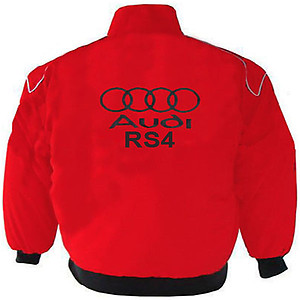 Audi RS4 Racing Jacket Red