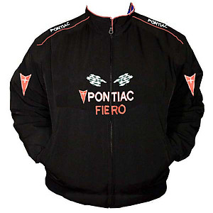 Pontiac Fiero Racing Jacket Black