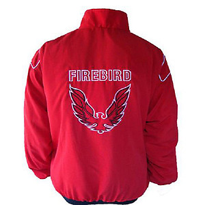 Pontiac Firebird Racing Jacket Red