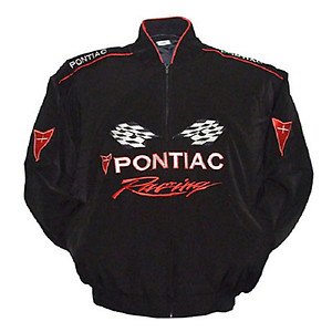 Pontiac Racing Jacket Black