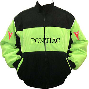 Pontiac Racing Jacket Green and Black