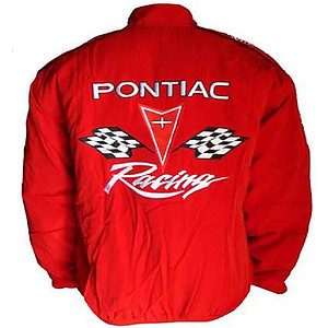 Pontiac Racing Jacket Red