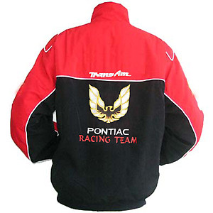 Pontiac Trans Am Racing Jacket Red and Black