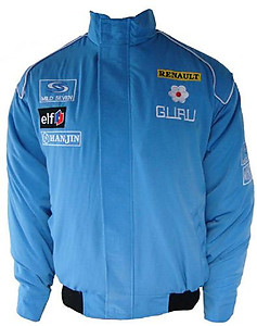 Renault F1 Racing Jacket Light Blue