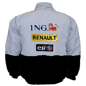 Renault ING F1 Racing Jacket Black and White