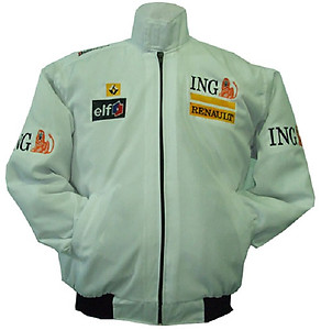 Renault ING F1 Racing Jacket White