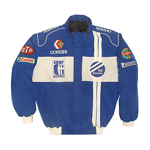 Renault R8 Gordini Racing Jacket Blue and White