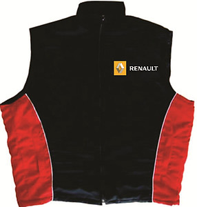Renault Vest Black and Red