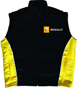 Renault Vest Black and Yellow