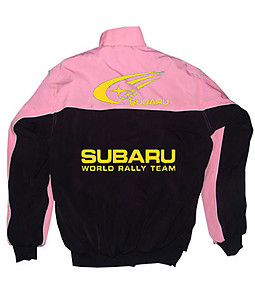 Subaru Racing Jacket Black & Pink