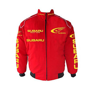 Subaru Racing Jacket Red