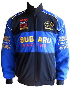 Subaru Racing Jacket Black & Blue