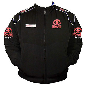 Toyota AE-86 Racing Jacket Black