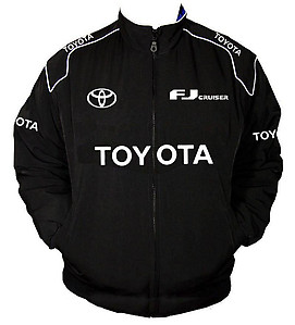 Toyota FJ Cruiser Racing Jacket Black