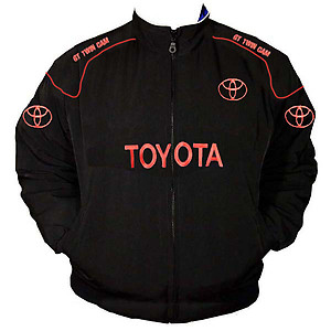 Toyota GT Twin Cam Racing Jacket Black