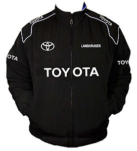 Toyota LandCruiser Racing Jacket Black