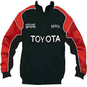 Toyota Panasonic Racing Jacket Black and Red