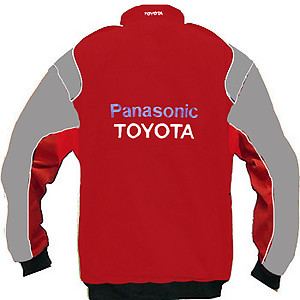 Toyota Panasonic Racing Jacket Red and Gray