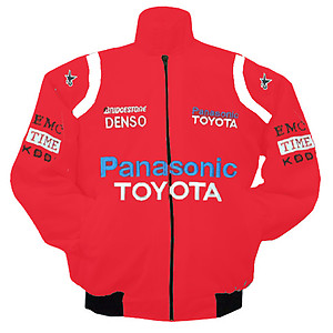 Toyota Panasonic Racing Jacket Red