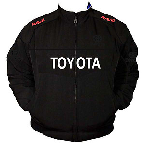 Toyota RAV4 Racing Jacket Black