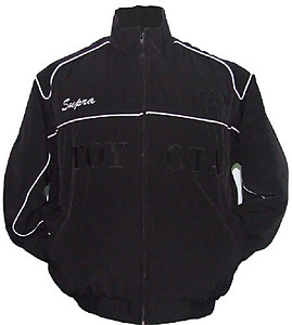Toyota Supra Racing Jacket Black