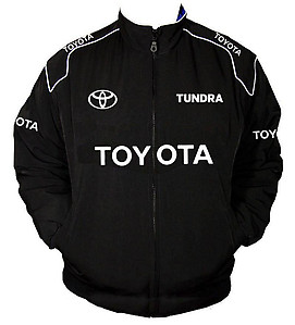 Toyota Tundra Racing Jacket Black