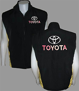 Toyota Vest Black and Yellow