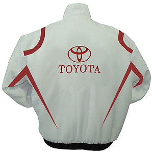 Toyota Panasonic Racing Jacket White