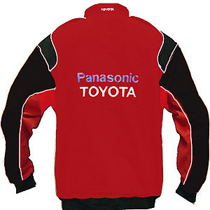 Toyota Panasonic Racing Jacket Red and Black