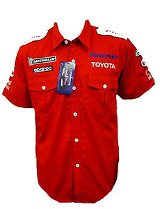 Toyota Panasonic F1 Crew Shirt Red