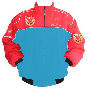 Trans Am Pontiac Racing Jacket Light Blue, Red