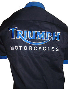 Triumph Motorcycles Crew Shirt