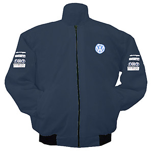 VW Volkswagen TNT Racing Jacket Dark Blue