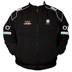 VW Volkswagen GTI Racing Jacket Black