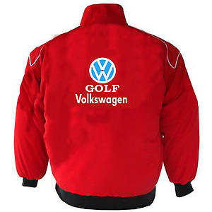VW Volkswagen Golf Racing Jacket Red