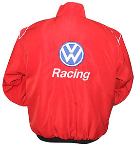 VW Volkswagen Racing Jacket Red