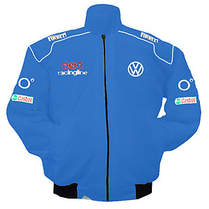 VW Volkswagen Racing Jacket Royal Blue