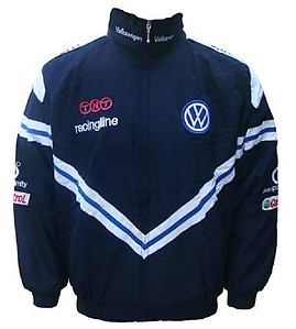 VW Volkswagen Racingline Racing Jacket Navy Blue