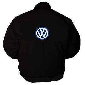 VW Volkswagen SIEMENS Racing Jacket Black