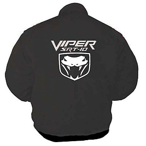 Viper SRT-10 Racing Jacket Dark Gray