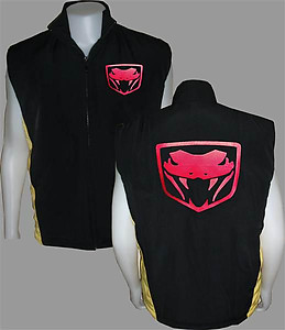 Viper Sport Vest Black and Yellow
