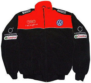 Volkswagen Black & Red Racing Jacket