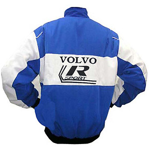 Volvo Racing Jacket Blue and White